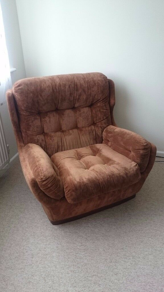 URGENT for sale brown armchair