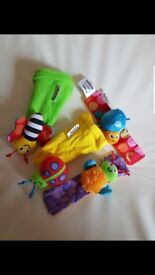 LAMAZE WRIST AND ANKLE RATTLES