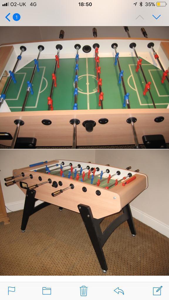 Football Table-Garlando G5000
