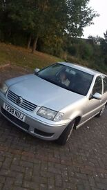 VW POLO 1.4 RUNNING BUT SPARES AND REPAIRS -