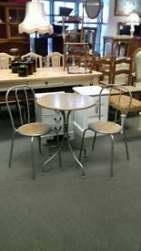 Kitchen Bistro Breakfast table and chairs Collection Ramsgate Kent