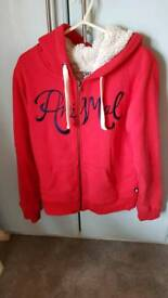 Fleece Animal zip hoodie