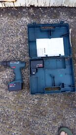Bosch 9.6V GSR Cordless Drill Spares or Repair