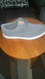 New Grey suede Brogue shoes for sale