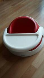 Mamas & Papas Red & White Booster Seat