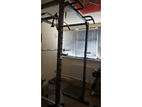 Bodymax CF375 Power Rack w/ lat/low Pulley Attachment