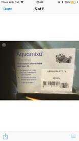 Aquamixa thermostatic bath shower mixer