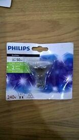 Philips EcoHalo 35w (50w) GU10 energy saving bulb