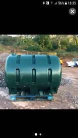 Oil Tank 300 gallons single skin