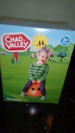 Chad valley Hopper - Orange - 3+ years - New in Box