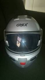 Grex helmet G9.1 XL flip up dual visor