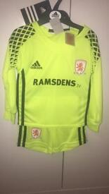 Middlesbrough football goal strip
