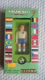 Airgam Boys World Cup 1982 England Football Figure with Football