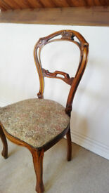 Period chairs 3 pcs finely crafted