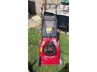 Mtd yardman briggs and stratton petrol lawnmower