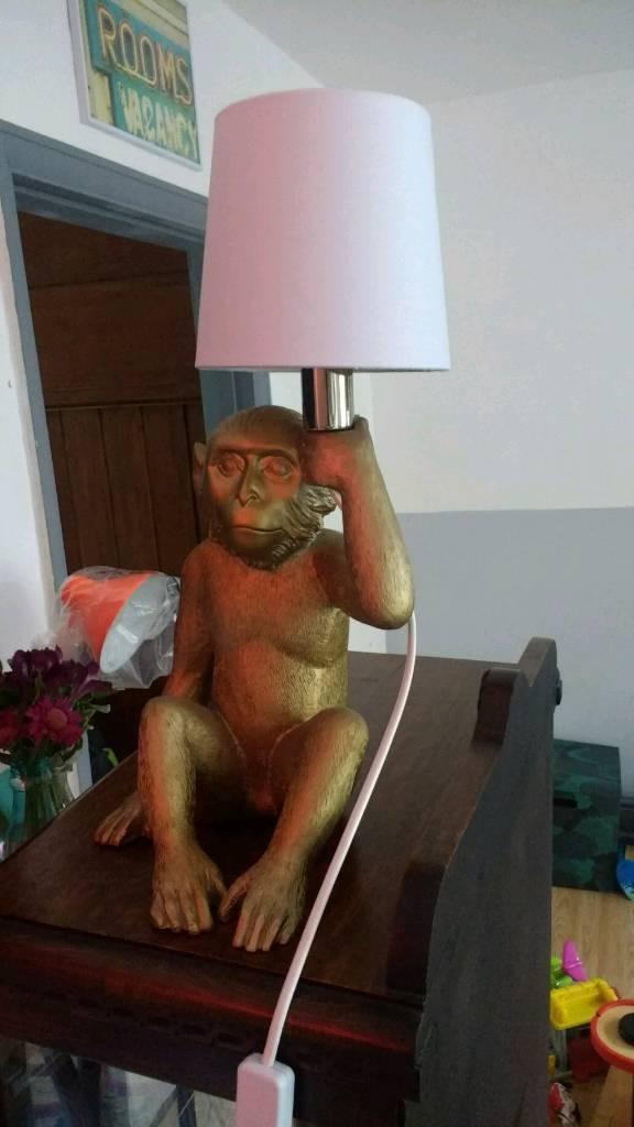 Abigail Ahern Style Monkey Lamp - Next
