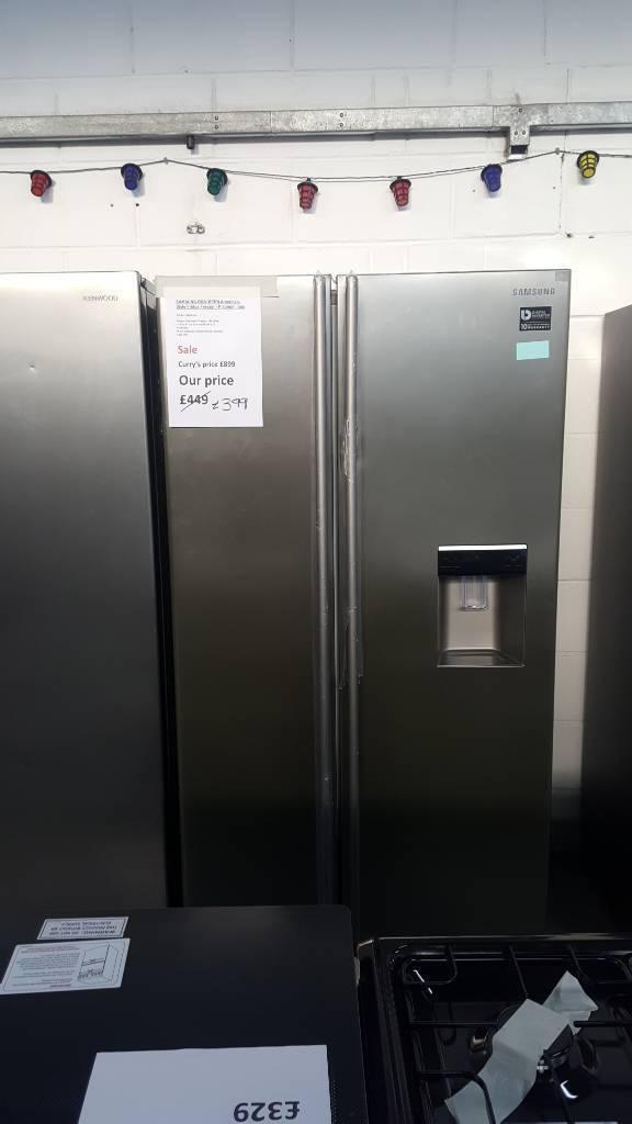 Brand new Samsung RSA1RTPN American style fridge freezer with warranty