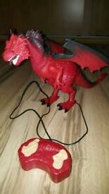 Remote control toy dragon