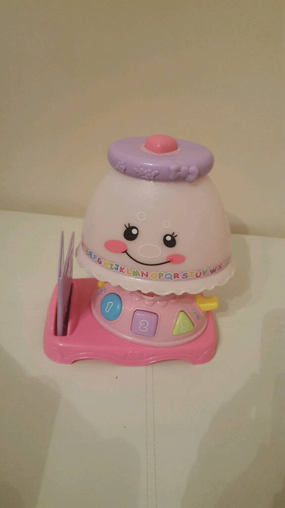 Fisher price laugh and Learn Lamp