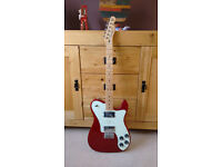 72 FENDER TELECASTER DELUXE | CANDY APPLE RED | FSR – FACTORY SPECIAL RUN