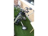 golf set for sale!!! clubs, bag and trolley!!! £100