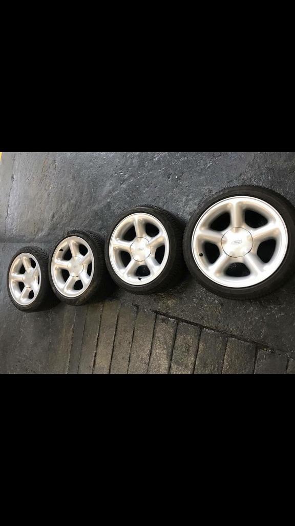 Sierra/escort cosworth wheels. 16x8 | in Bangor, Gwynedd | Gumtree
