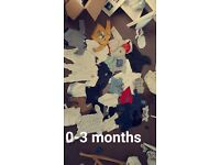 Massive bundle boys 0-3 months clothes
