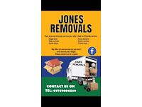 Jones removals services