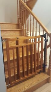 Baby gates for staircases