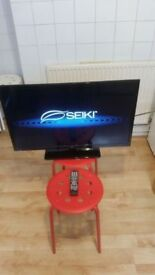 "SEIKI SE32HY01UK 32""; LED TV PLUS REMOTE CONTROL EXCELLENT CONDITION"
