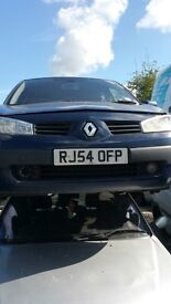 2004 RENAULT MEGANE EXPRESSION DCI (MANUAL DIESEL)- FOR PARTS ONLY