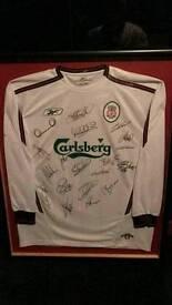 Liverpool signed frame
