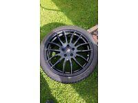 """18""""alloy wheel astra vectra 5x110"""