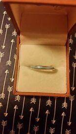 Tiffany and co narrow band ring