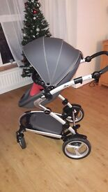 3 in 1 Mima kobi pram with accessories for sale