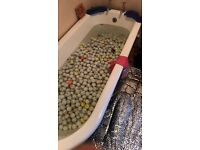 Mixed golf ball selling as a lot ! ASAP ! contact me ! no time wasters