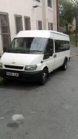 Ford transit 17 seater mini bus
