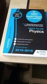 Hodder Gibson sqa 2015/16 higher books