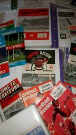 200+ football programmes early 50s on.