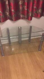 Glass corner tv stand £30 ono