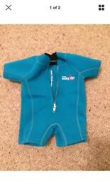 Two Barefeet Baby wetsuit. 0-6months.