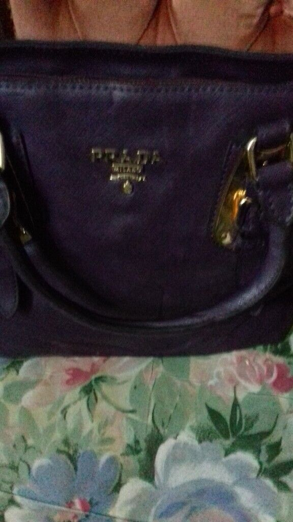09c9a5d995bf Prada Ladies Handbags for Sale. Two Bags BBrown and deep purple colours  respectifully