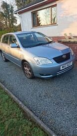 2004 Toyota Corolla 96k miles £1500 (will consider offers)