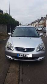 Honda Civic SE Executive Fully Loaded, Top of the Range Very Low Mileage Quick Sale