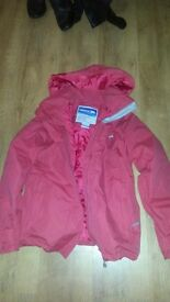 Ladies waterproof trespass walking coat xs