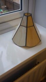 Two small lampshades