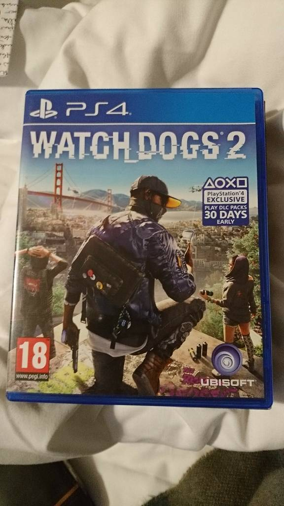 PS4 Game, Watch Dogs 2