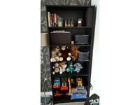 Ikea Billy Bookcase (black/brown)