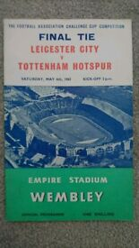 1961 FA CUP FINAL PROGRAMME