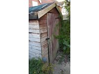 Used Garden shed 5x7